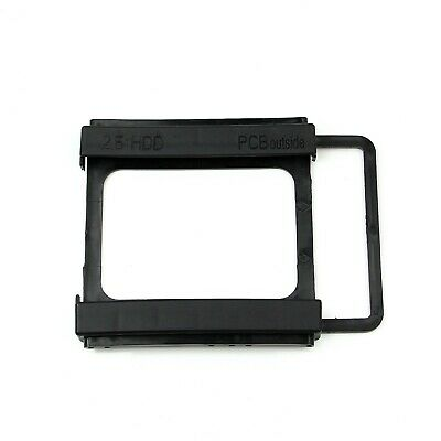 2.5 To 3.5 Inch SSD HDD Dock Mounting Adapter Bracket Hard Drive Holder PC -EU- • 1.99£
