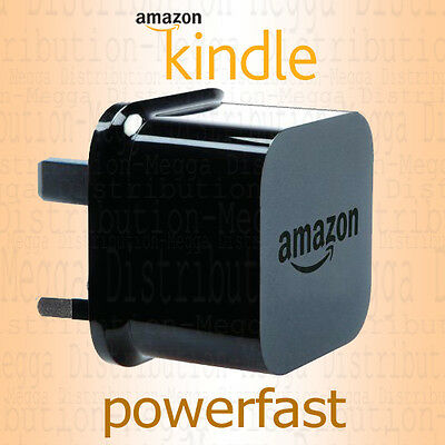 Amazon 9W Kindle EReader/Touch/Paperwhite/Fire HD/Oasis  USB Charger UK Plug • 6.95£
