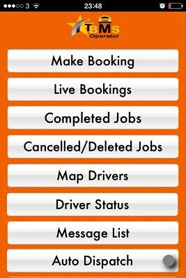 Taxi Minicab Chauffeur Office Dispatch Software Apps  • 35£