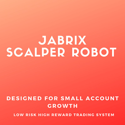 Jabrix Scalper MT4 Fully Automated Trading Robot + Lifetime License  • 99.67£