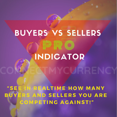 Buyers And Sellers Indicator MT4 Trading System / Strategy • 29.97£