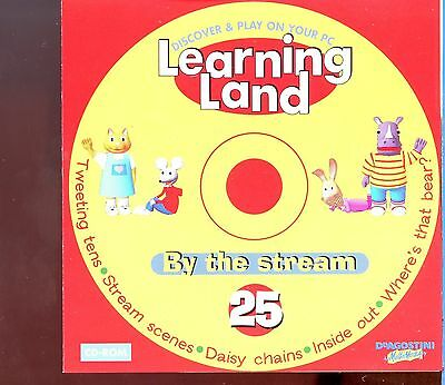 Learning Land PC CD Rom / No.25 - By The Stream • 1£