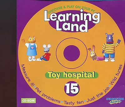 Learning Land PC CD Rom / No.15 - Toy Hospital • 1£