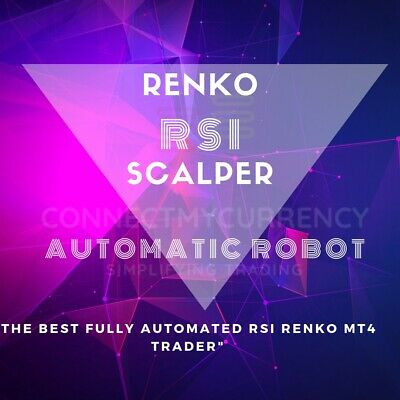 RSI Renko Scalper MT4 TRADING SYSTEM / TRADING SYSTEM + UNLIMITED LICENSE • 49.97£