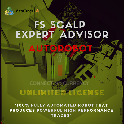 FS Scalp EA MT4 Trading System / Strategy + UNLIMITED License • 29.97£