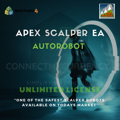 APEX SCALPER MT4 Robot Trading System / Strategy + UNLIMITED License • 49.97£