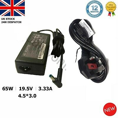 FOR HP Pavilion 15 Notebook PC 740015-003 Laptop Charger AC Adapter Power Supply • 10.95£