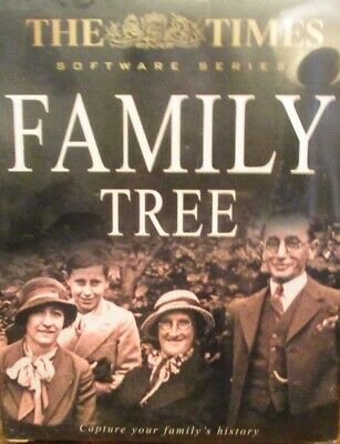 Cd Rom - Family Tree - The Times • 3.98£