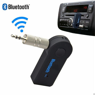 Wireless Bluetooth Receiver Transmitter Adapter For Car Music Aux 3.5mm Jack UK • 4.25£