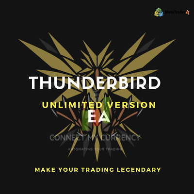 THUNDERBIRD EA Fully Automated MT4 Trading System / Strategy + UNLIMITED License • 39.97£