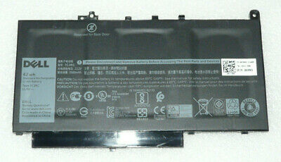 New Genuine Dell Latitude E7270 E7470 Battery 42wh 7cjrc Knm09 V6vmn 451-bbwr • 54.99£