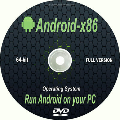 ANDROID MOBILE Operating System For Your Desktop Laptop PC Full Install DVD   • 3.49£