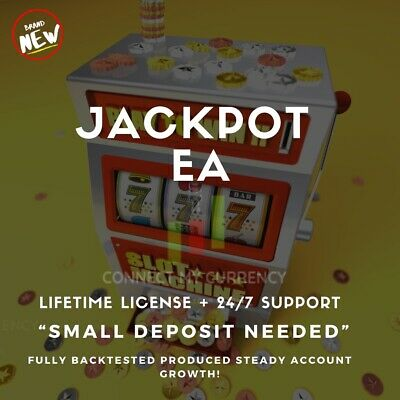 Jackpot Expert Advisor Fully Automated MT4 Trading System / Strategy + License • 39.97£