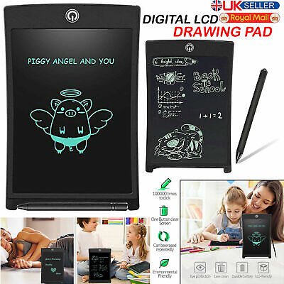 8.5  Electronic Digital LCD Writing Pad Tablet Drawing Graphics Board For Kid • 6.99£