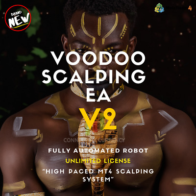VOODOO SCALPING EA Fully Automated MT4 Trading Robot / System / Strategy • 49.97£