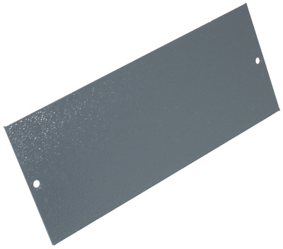 Blanking Plate For Cavity Floor Box 06298 185 X 75mm Grey • 1.99£