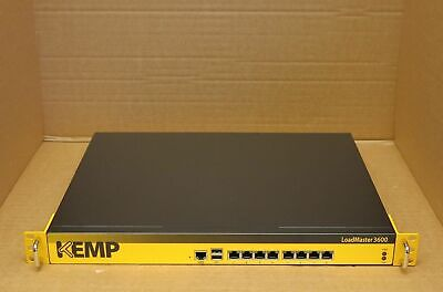 KEMP LoadMaster 3600 Server Load Balancer /w Rack Ears • 688.04£