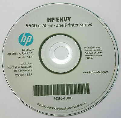 CLONE - HP Printer CD Driver Software Disc For Envy 5640 5644 All In One Series • 3.95£