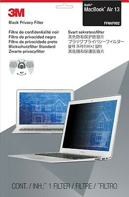 3M Black Privacy Filter For 13 Inch Apple MacBook Air, PFNAP002 - RRP: £40.77 • 29.99£