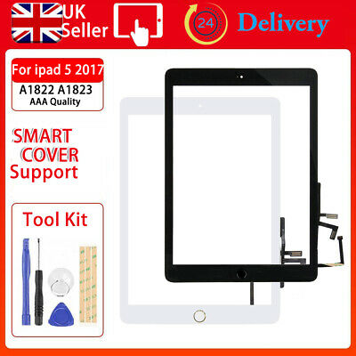 For Ipad 5th Gen 2017 A1822 A1823 Screen Replacement Touch Glass Digitizer Tools • 17.59£
