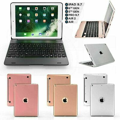 Smart Case With Bluetooth Keyboard Cover For IPad 5/6th Gen 2018 & Air Pro 9.7  • 22.99£
