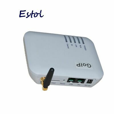 1 SIM Port GOIP VOIP GSM Gateway Support Bulk Sms Send And IMEI Changeable • 99.23£