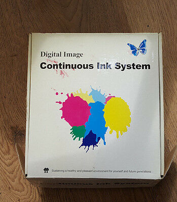 CISS  Continuous Ink System For Epson, Canon,  • 9.99£