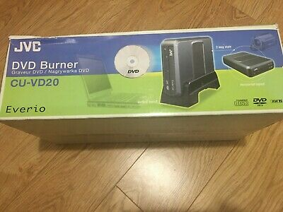 JVC DVD Burner CU-VD20 Everio NEW Boxed • 75£