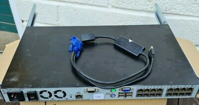 Dell Poweredge 2161DS-2 IP KVM With X1 USB SIP • 1.20£
