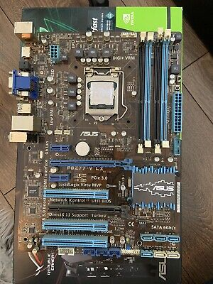 ASUS P8Z77-V LX Motherboard & Intel I5-3570K CPU - LGA 1155 DDR3 / 3.4GHz 4-core • 46£