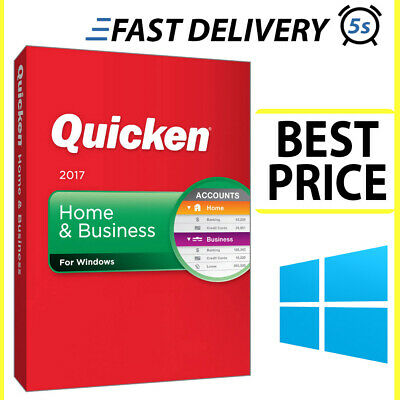 Intuit QUICKEN Home And Business 2017✔️🔥 Lifetime 🔥 Fast Delivery (5s) 🔥 • 15£