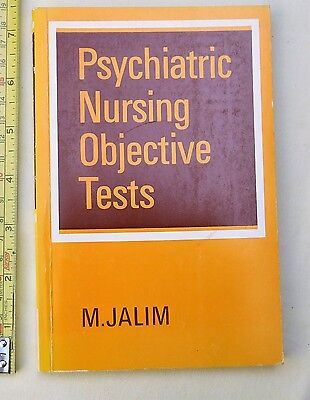 Psychiatry, Psychiatric Nursing Objective Tests - M Jalim • 2.95£