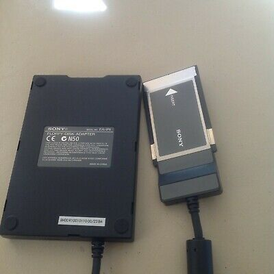 Sony Floppy Disk Adapter N50,Model FA-P1 • 10£