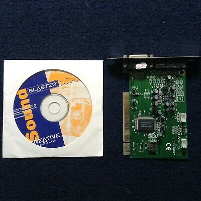 Computer Sound Card With Disc • 2.50£