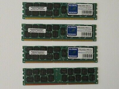 Global Memory 16GB DDR3- 1600 CL11 16GB PC3L-12800R 2RX4 (For Servers) 4 Units • 49.99£