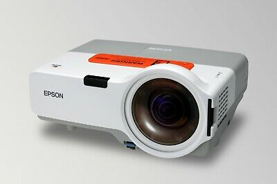 EPSON EMP-410WE Projector, Short Throw, Tested And Working + Remote • 140.99£