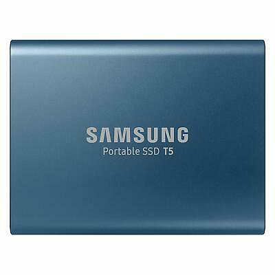 Samsung T5 500 GB USB 3.1 Gen 2 (10 Gbps, Type-C) External Solid State Drive • 113.99£