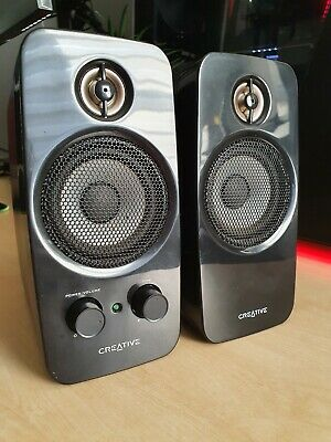 Creative Inspire T10 PC Laptop Speakers, 24h Aucion. Perfect Working Condition.  • 14.50£