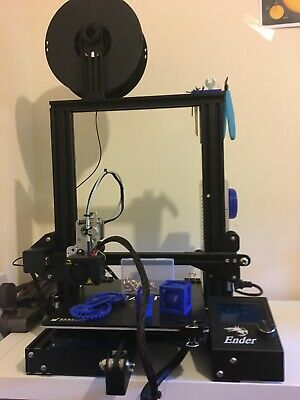 Creality 3D Ender-3 3D Pro Printer Upgraded - Extras - Boxed - 6 Months Old!! • 285£