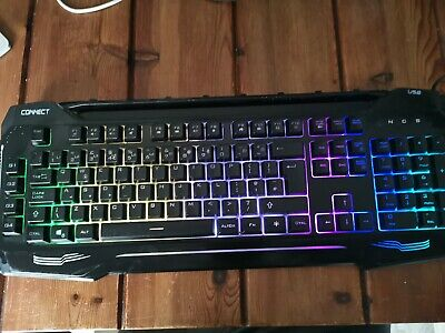 CIT Connect Light Up Gaming Keyboard • 0.99£