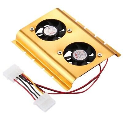 New High Quality 4-pin Hard Drive Disk Cooling Fan, Random Color Delivery • 9.97£