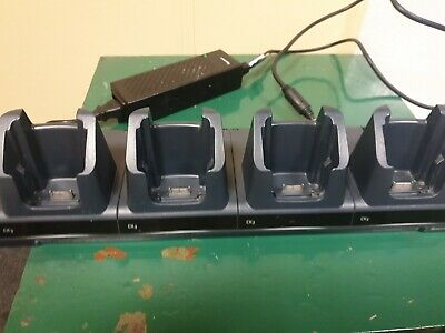 Honeywell Intermec 4 Gang Charging Station CK3 Scanner, Used & Working • 340£