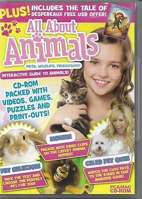 All About Animals Cd-rom • 0.99£