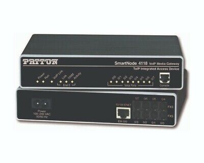 Patton - SmartNode 4114 - 4 FXS VoIP Gateway Accessories Patton • 99£