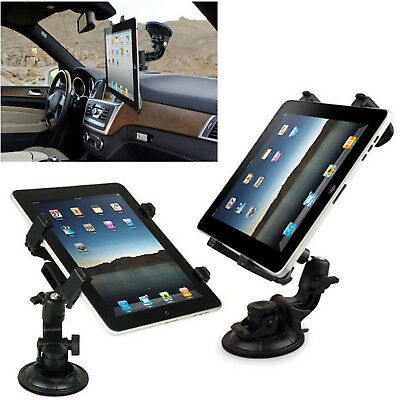 Universal In Car Suction Mount 360° Holder IPad & Samsung Galaxy Tablet 7 To 11  • 7.99£