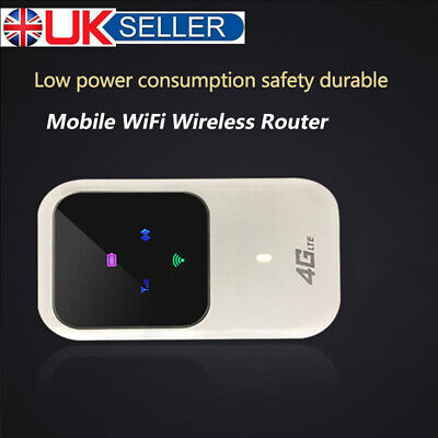 UK Unlocked 4G Wifi LTE Mobile Broadband Wi-Fi Wireless Router Mi-Fi Hotspot • 20.95£