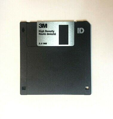 3M Quality High Density Floppy Disk For Older Synthesisers Samplers Sequencers • 5.47£