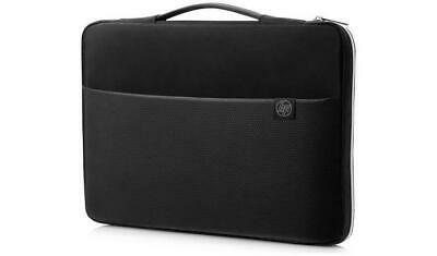 HP 15.6in Black/Silver Laptop Carry Sleeve Case • 7.99£