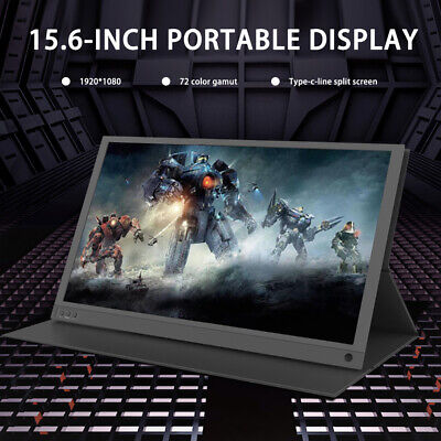 LG156 Portable 15.6 Inch Phone Computer Notebook External Expansion Monitor • 89.99£