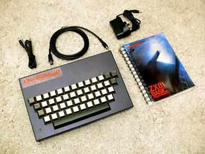 Sinclair ZX81 Personal Computer In Dean Electronics Full Travel Keyboard • 179.99£